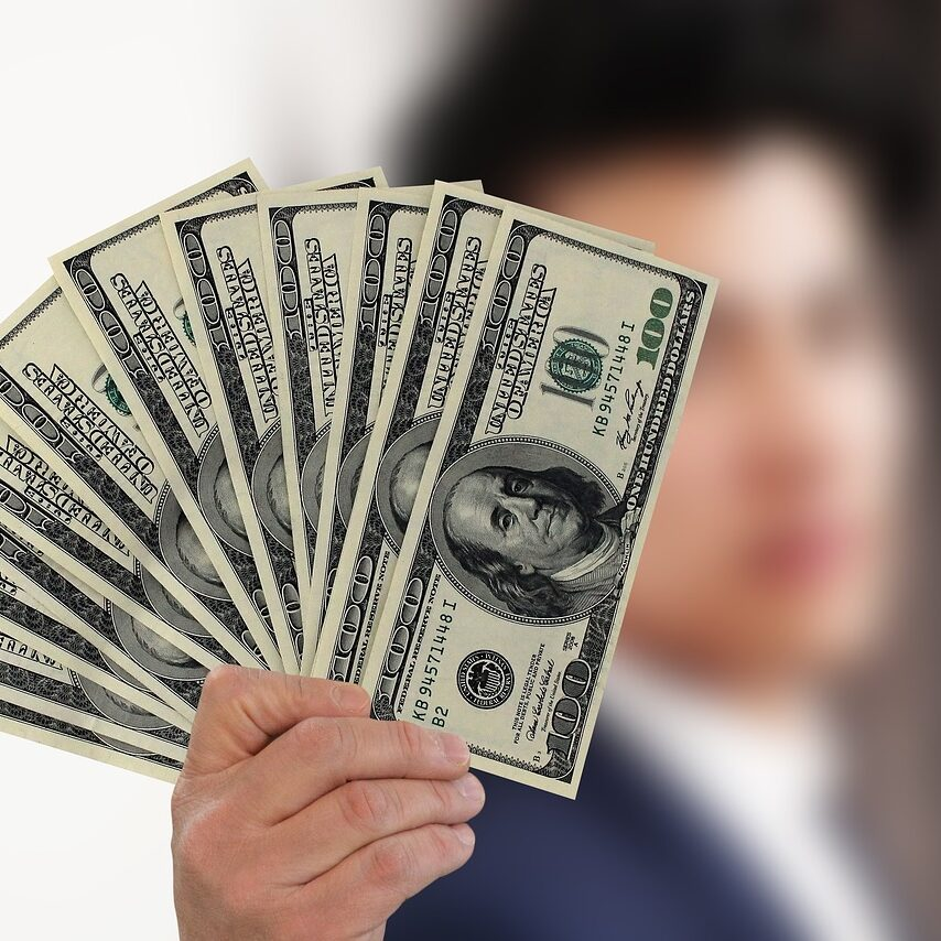 businessman, kaufmann, money